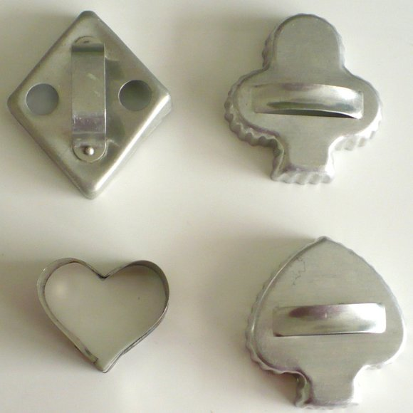 ❤️Cookie Cutters Aluminum Playing Card Suits